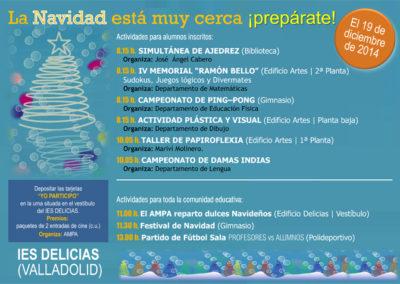 Actividades de Navidad 2014