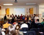 Entrega de premios literarios en el IES DELICIAS