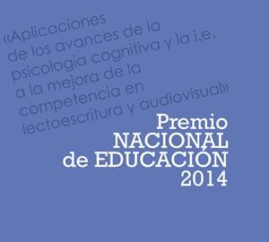 Premio Nacional de Educación 2014. Felicitaciones de la Delegación del Gobierno y la Consejería de Educación