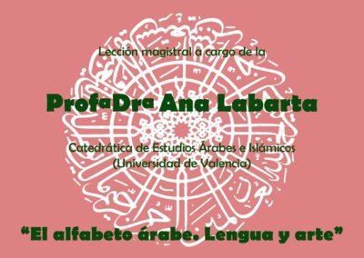Conferencia sobre el alfabeto Árabe