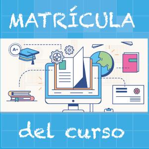 MATRÍCULA CURSO (2017-2018)