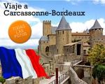 Viaje cultural a Carcassonne-Bourdeaux