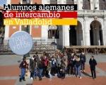 Alumnos alemanes en Valladolid