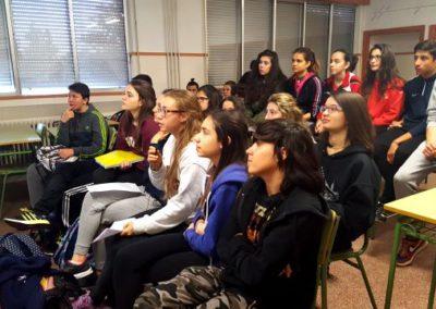 Video-conferencia con el Joides Resolution.