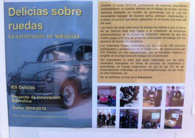 El IES DELICIAS colabora con los amigos de Renault.