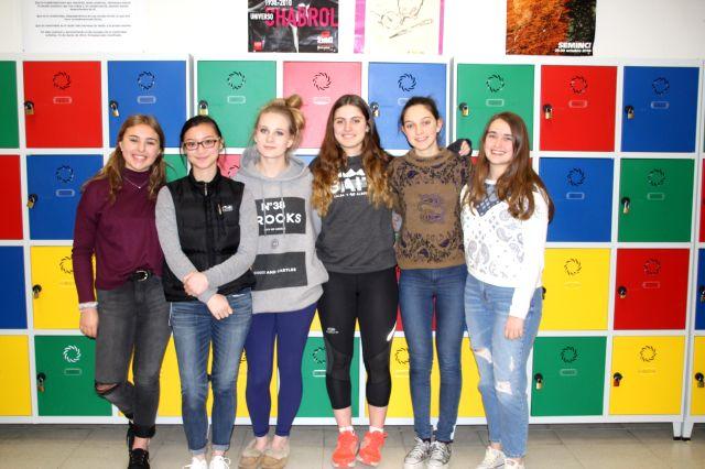 Recepción de alumnas canadienses de intercambio