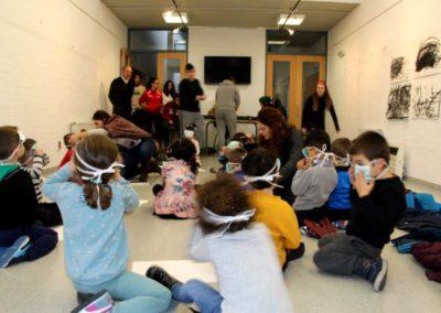 Actividad con los niños del CEIP Pablo Picasso