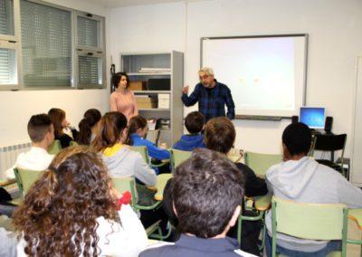 Reunión de alumnos responsables