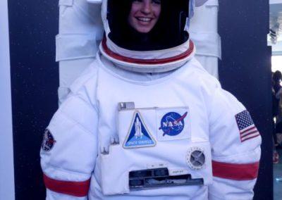 Visita al centro de la NASA