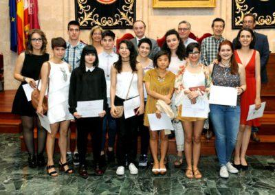 Entrega de diplomas del BIEXArt en la Universidad