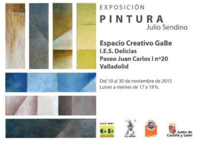 Julio Sendino expone su obra en el Gabe