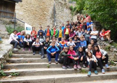 Día Verde en los Cañones del Ebro (1º y 2º ESO)