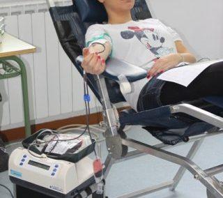 Alumnos y profesores donantes de sangre