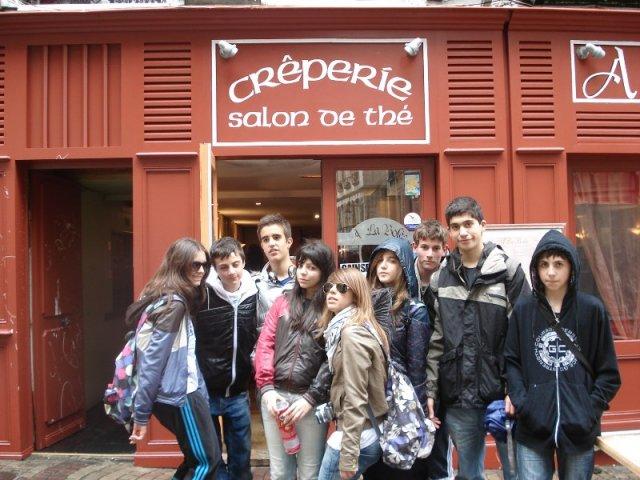 Los alumnos de 2º de ESO (Francés) visitan la provincia de Perigord