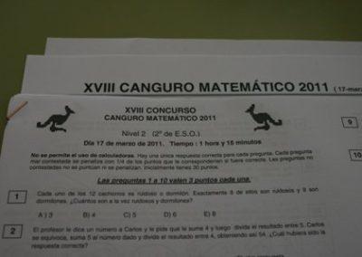 Concurso Canguro Matemático