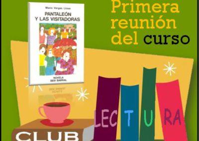 Club de Lectura (Primera reunión del curso 2017-2018)