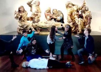 Visita al Museo Nacional de Escultura