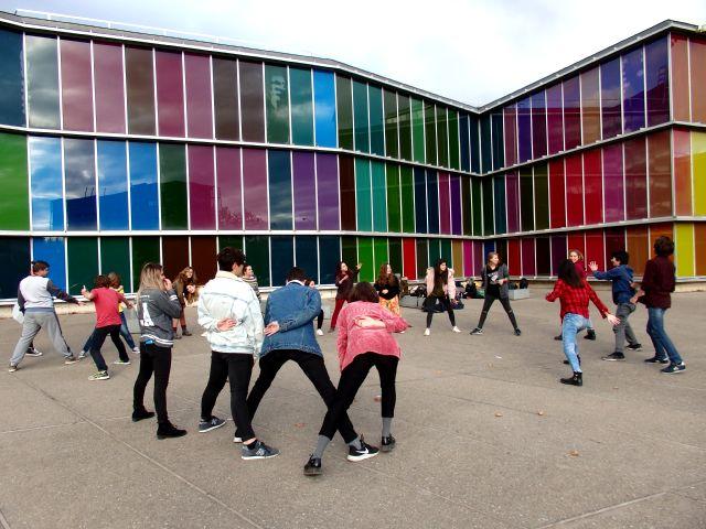 Los alumnos del BIEX visitan León