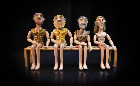Teatro de títeres 'La guerra de Troya'