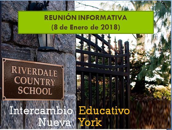 Reunión informativa (Intercambio Nueva York)
