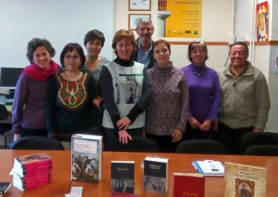 Club de Lectura (Tercera reunión del curso 2017-2018)