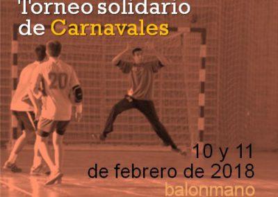 V Torneo de Carnavales de Balonmano