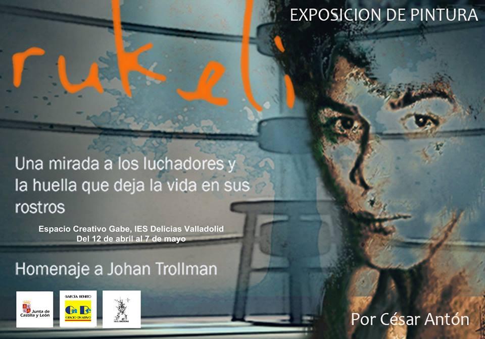 Exposición de pintura de César Antón
