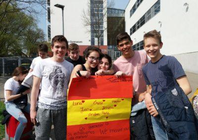 Intercambio con Alemania