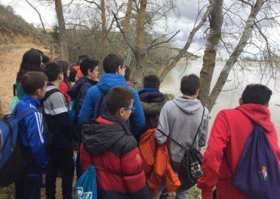 Visita a las Riberas de Castronuño