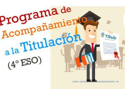Programa de Acompañamiento a la Titulación (4ºESO)