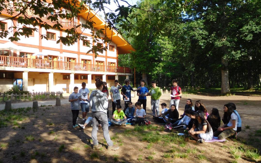 Aulas de la Naturaleza Bilingües