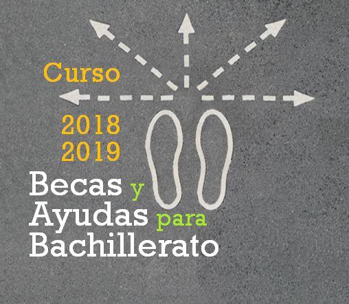 Ayudas para Alumnos de Bachillerato (Curso 2018-2019)