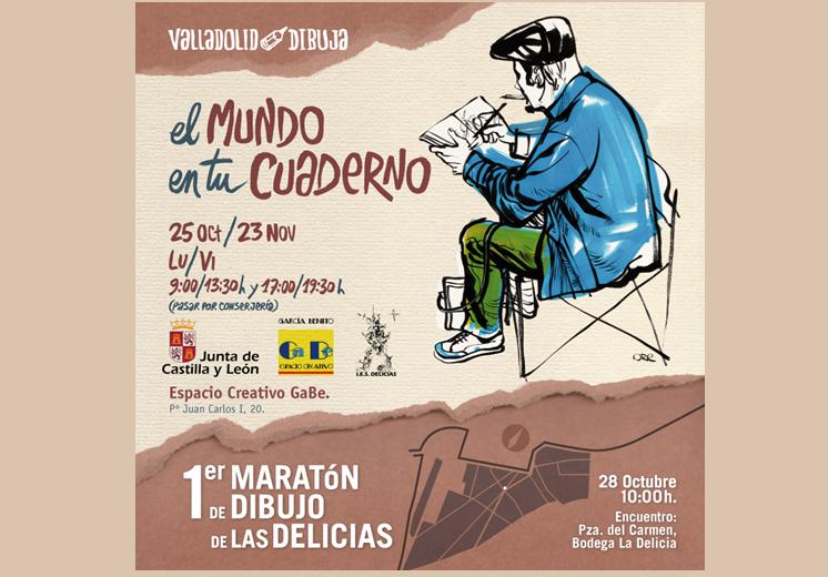 Exposición y Maratón de Dibujo 'El Mundo en tu Cuaderno'