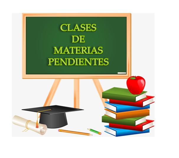 Clases de Materias Pendientes (Horario)