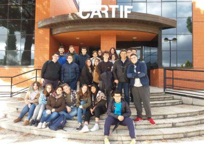 Visitas a CARTIF y a la EDAR de Valladolid