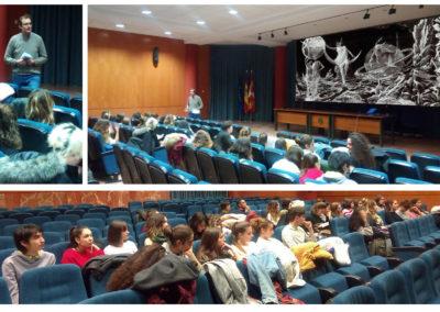 Programación de cine para los alumnos del BIEX (1ª proyección)