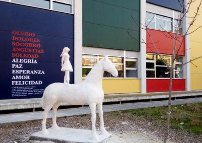 Escultura «La Yegua y la Bailarina»
