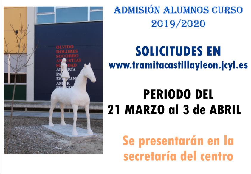 Calendario Educacyl.Proceso De Matriculacion Curso 2019 2020 Ies Delicias