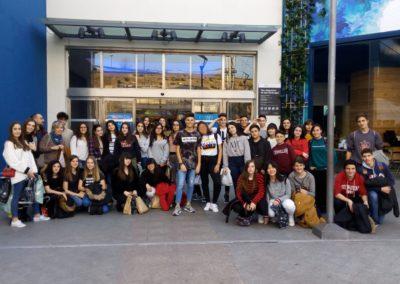 Visita de los alumnos de Música a Madrid