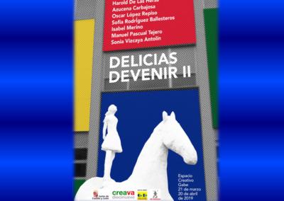 Exposición Delicias Devenir II