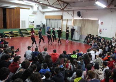 Exhibición baile (4º ESO y 1º Bach)
