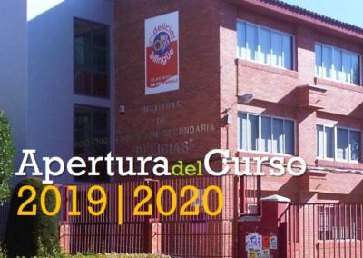 Apertura del curso 2019-2020