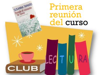 Club de Lectura (Primera reunión del curso 2019-2020)