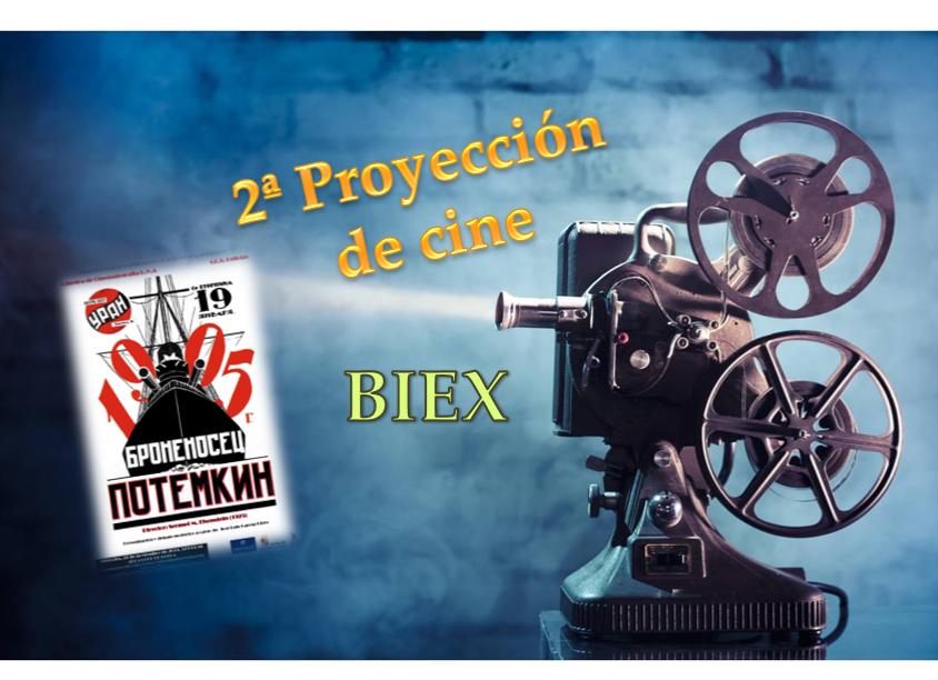 Programación de cine para los alumnos del BIEX (2ª proyección)