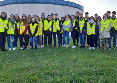 Visita a la EDAR de Valladolid