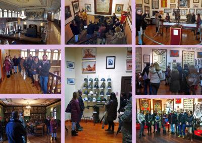 Visita del AMPA a la Academia de Caballería