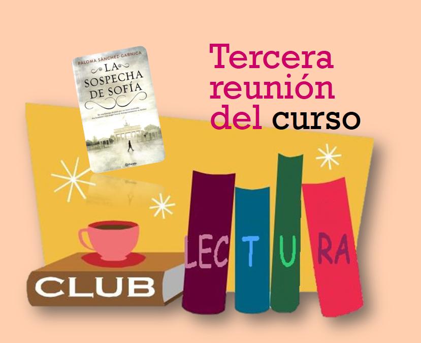 Club de Lectura (Tercera reunión del curso 2019-2020)