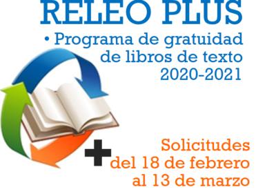 Programa de gratuidad de libros de texto RELEO PLUS 2020/2021