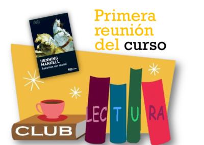 Club de Lectura (Primera reunión del curso 2020-2021)