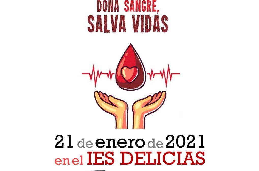 Campaña de donación de sangre (21 de Enero de 2021)